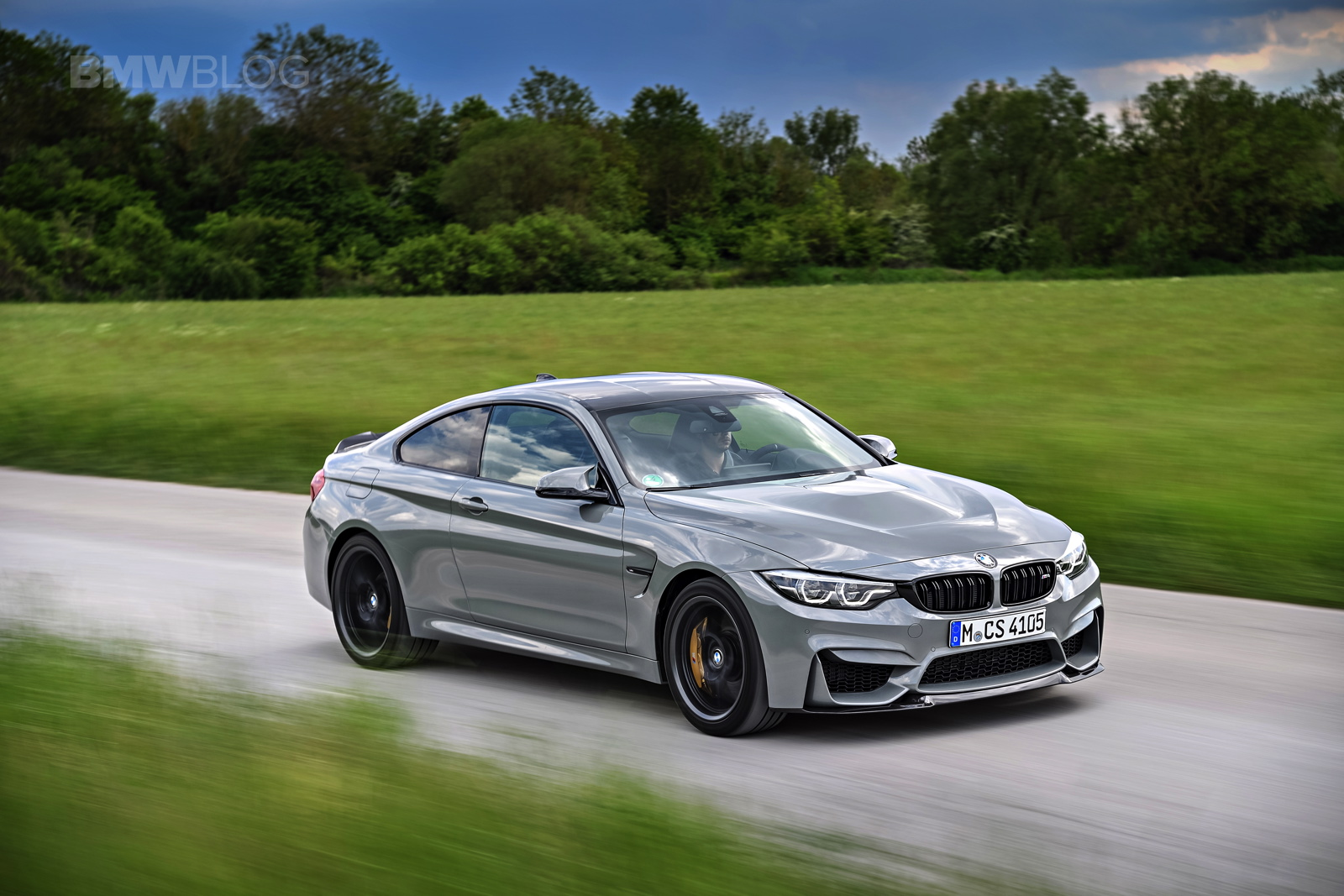 BMW M4 CS LIME ROCK GREY 34