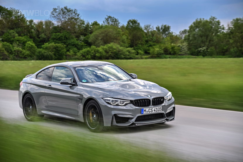 BMW M4 CS LIME ROCK GREY 40