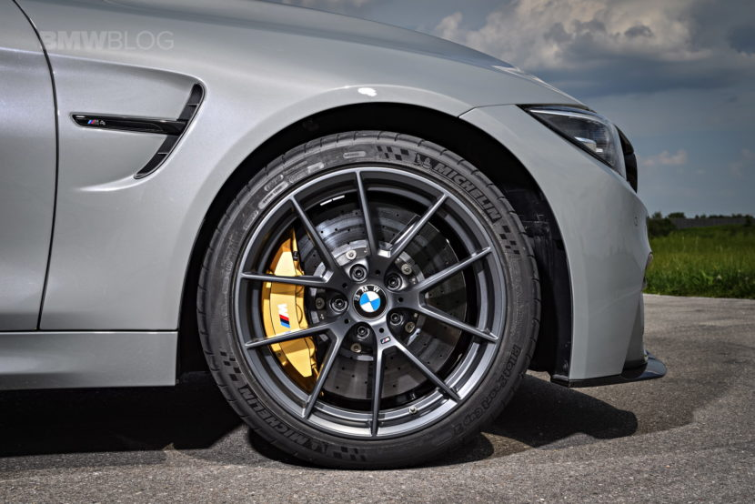 Bmw Shows Off The M4 Cs Lime Rock Grey