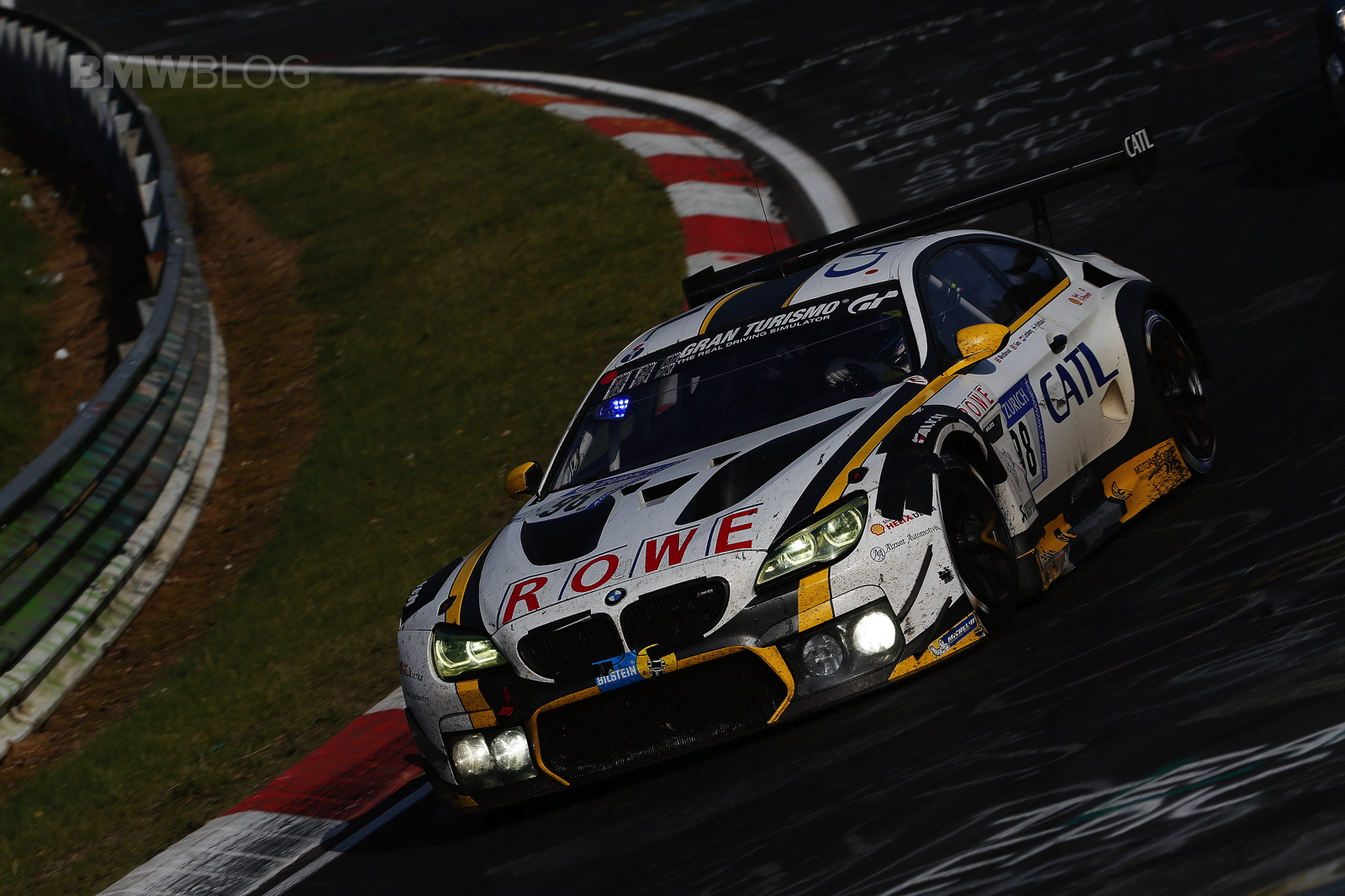 ROWE Racing secures second place at the Nürburgring with ...