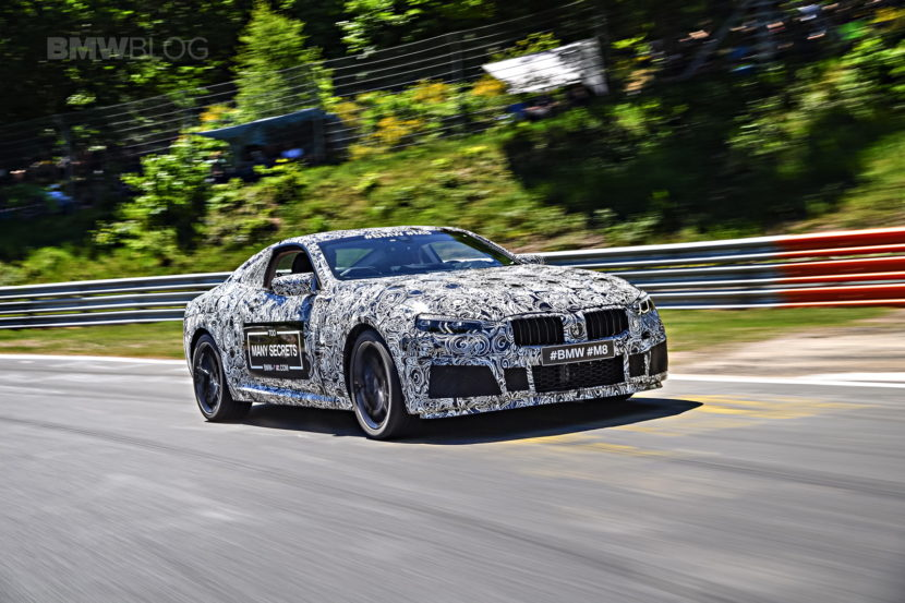 BMW M8 photos camouflage 11 830x553