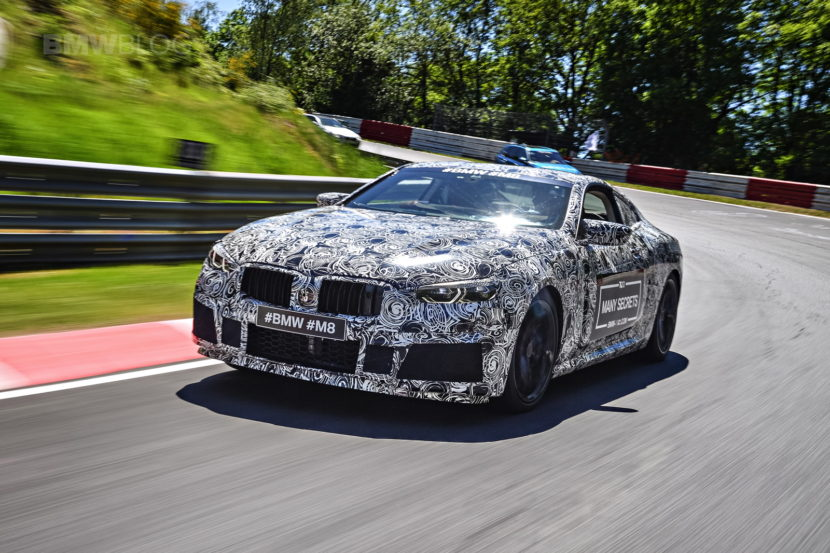 BMW M8 photos camouflage 13 830x553
