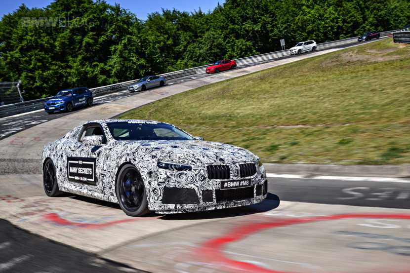 EXCLUSIVE: Real-life photos of the new BMW M8 at Nurburgring