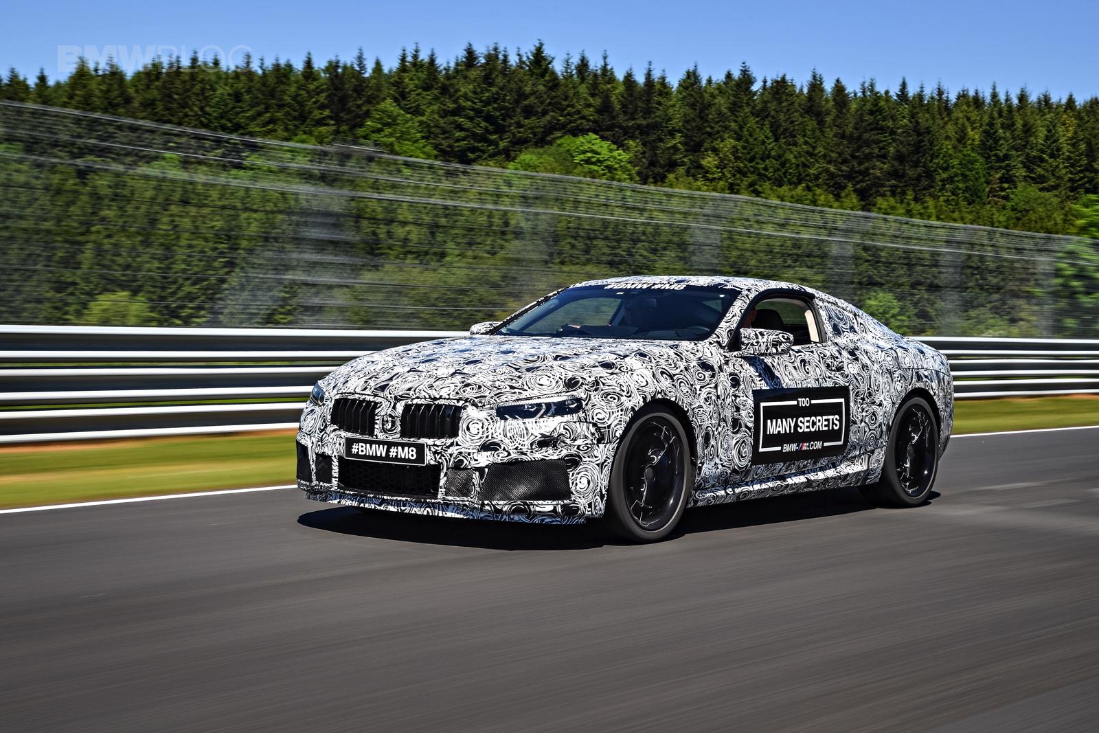 BMW M8 photos camouflage 15