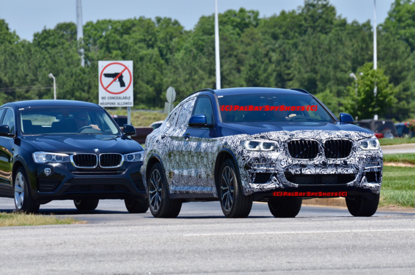 BMW X4 Spy Photos3 830x550
