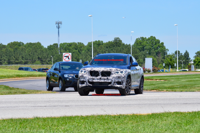 BMW X4 Spy Photos4 830x553