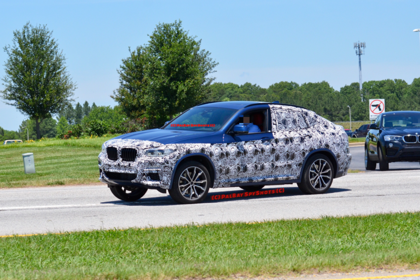BMW X4 Spy Photos5 830x553