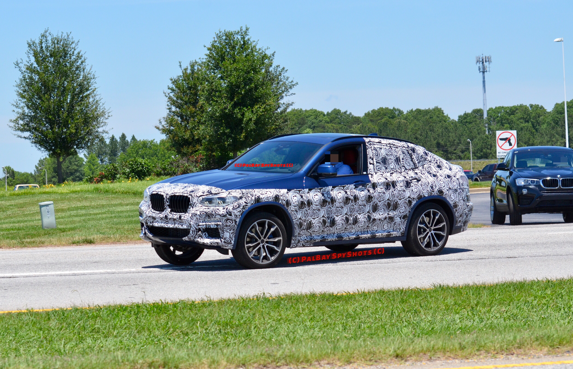 BMW X4 Spy Photos5