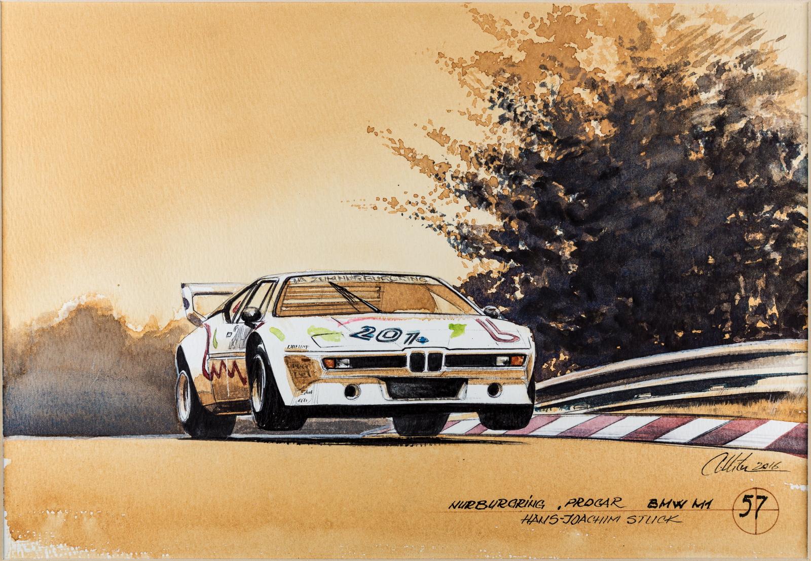 BMW history paintings adrian mitu 12