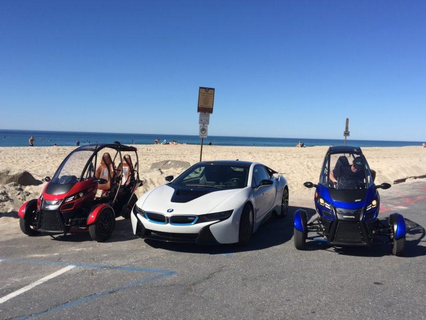 BMW i8 beach 830x623