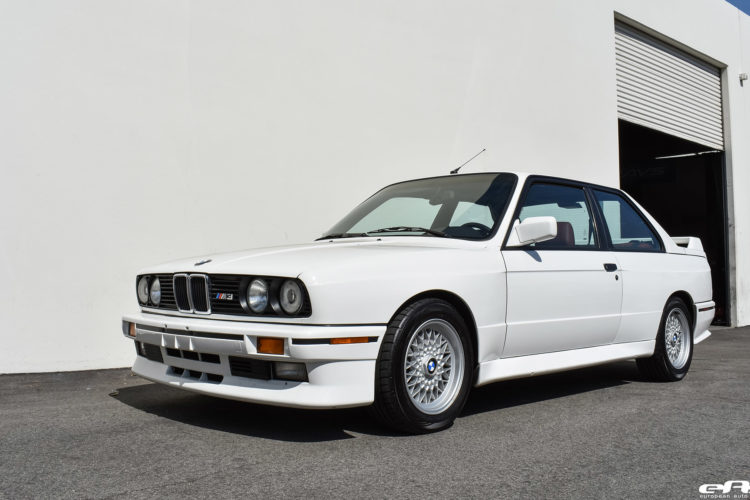 Beautiful Alpine White BMW E30 M3 Visits European Auto Source 11 750x500