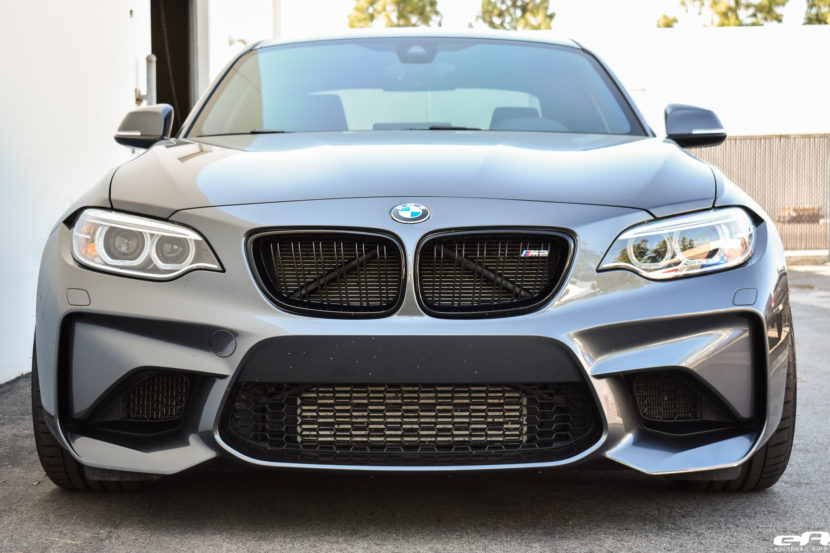 Mineral Gray BMW M2 Gets Modded At European Auto Source 12 830x553