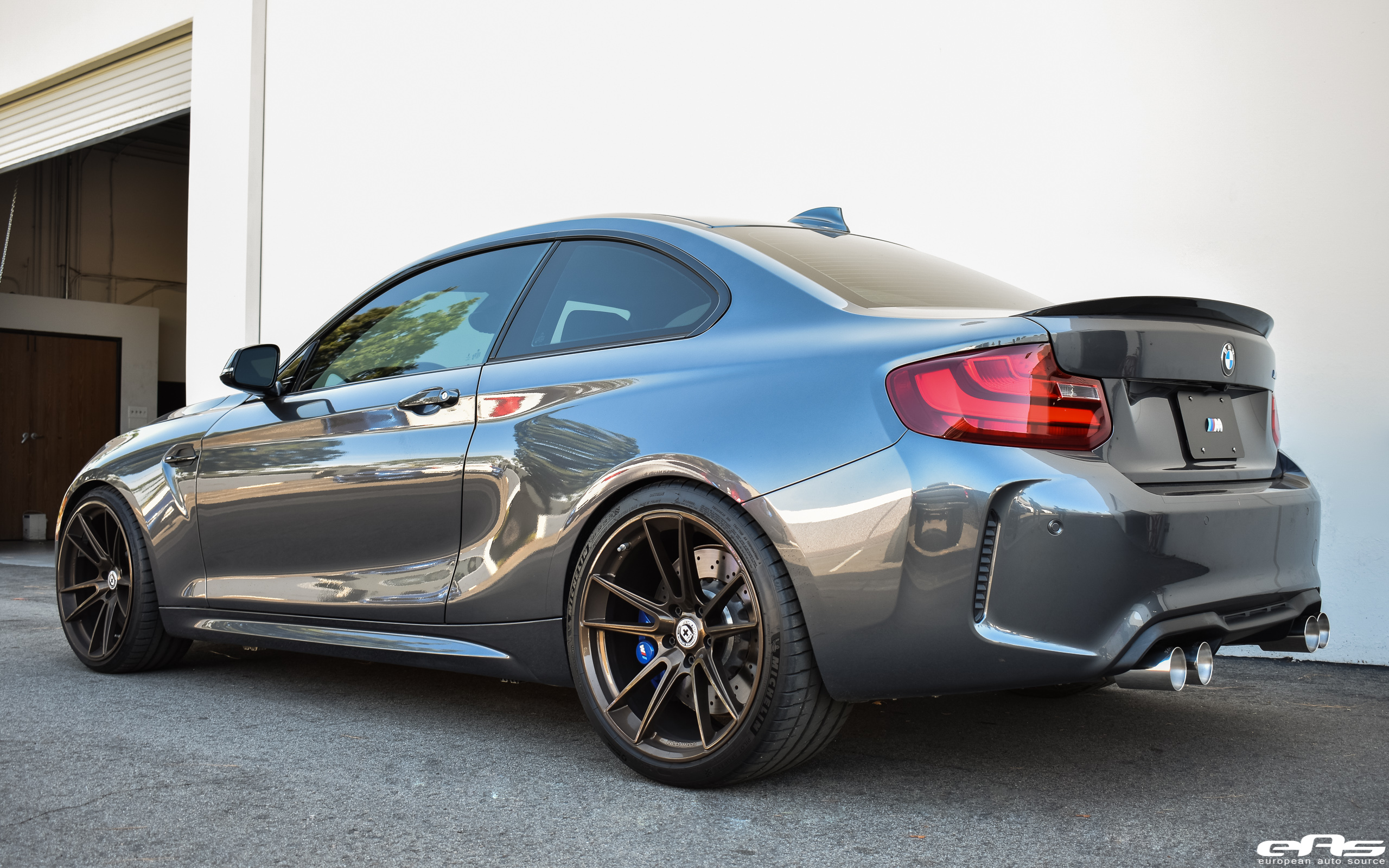 Design Your Own Car >> Mineral Gray BMW M2 Gets Modded At European Auto Source