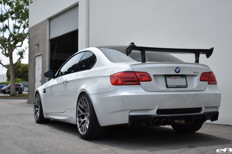 Mineral White BMW M3 Image 13 750x500