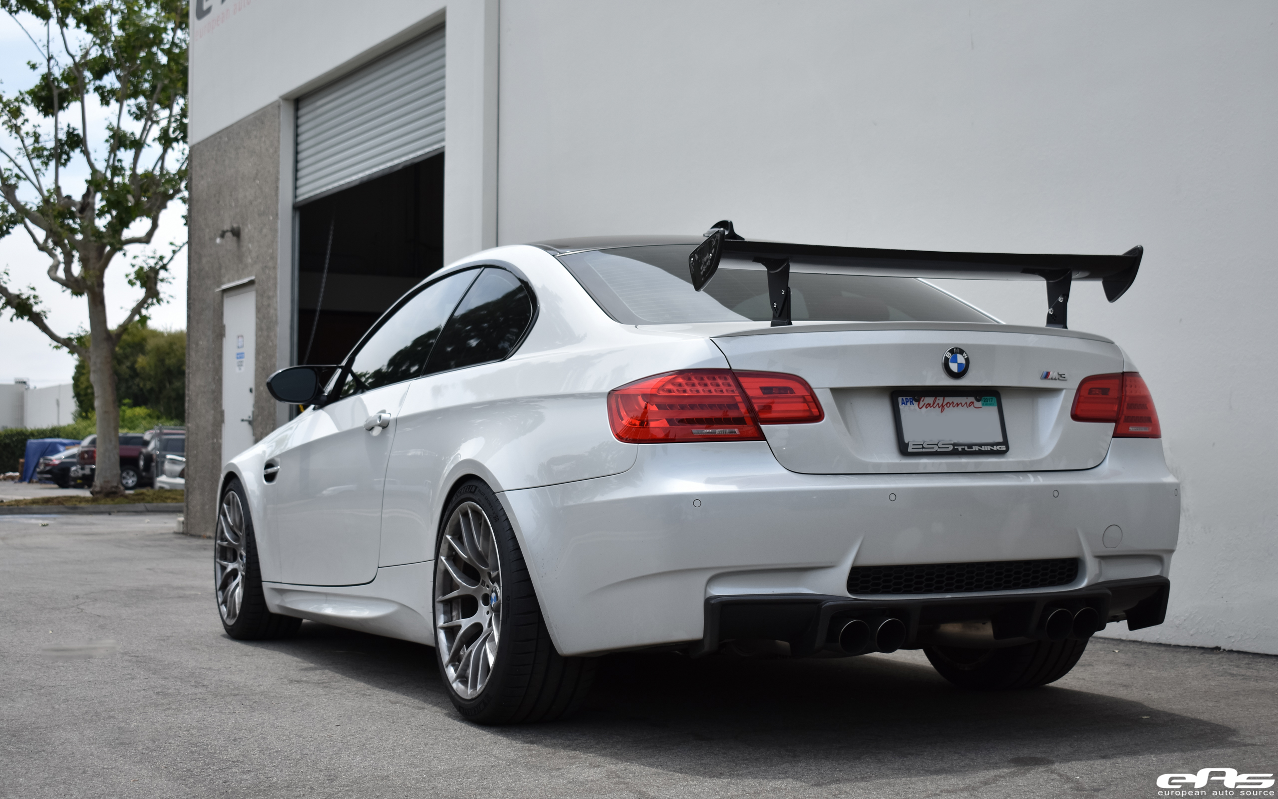 Mineral White Bmw M3 Gets Lowered And Tastefully Modded