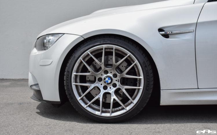 Mineral White BMW M3 Image 6 750x469