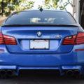 Monte Carlo Blue BMW F10 M5 - Vorsteiner V-FF 107 Wheels