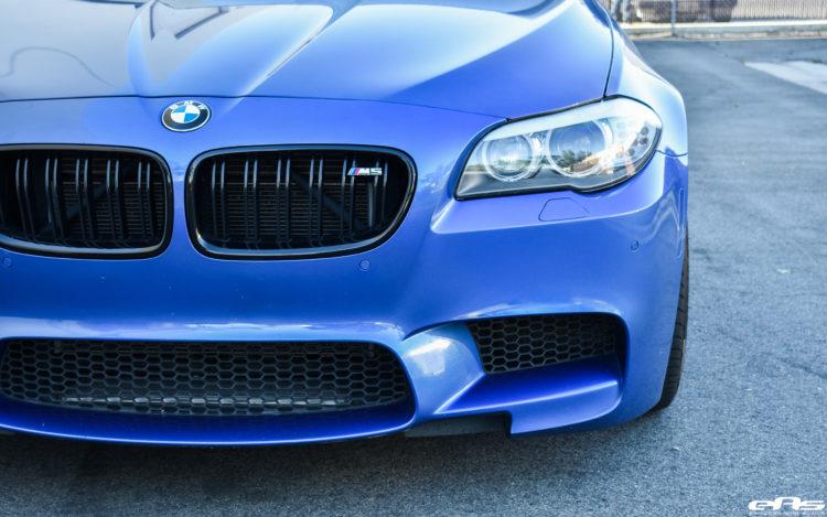 Monte Carlo Blue BMW F10 M5 Vorsteiner V FF 107 Wheels 6 750x469