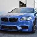 Monte Carlo Blue BMW F10 M5 Vorsteiner V FF 107 Wheels 7 120x120