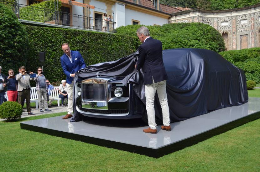 Rolls Royce Sweptail Coupe 2017 Phantom 2 830x550
