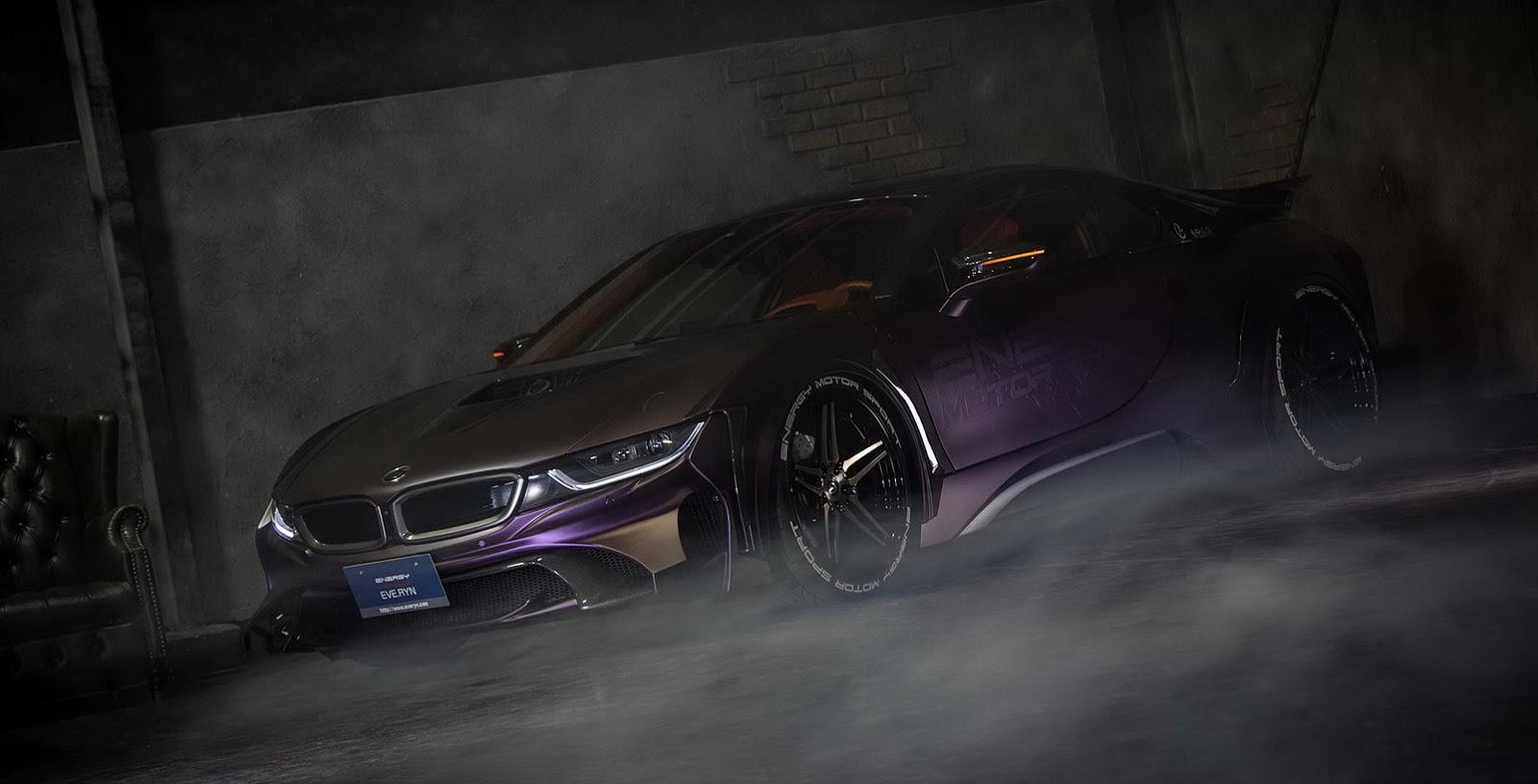 Video Eve Ryn Bmw I8 Dark Knight Edition Looks Insane