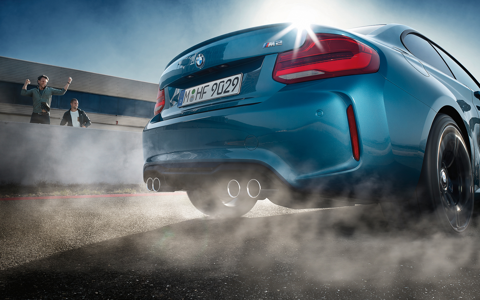 Bmw Of Newton >> Download wallpapers of the 2017 BMW M2 Facelift