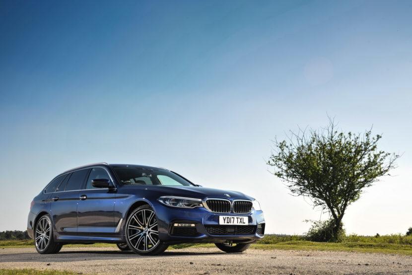 2017 BMW 5 Series Touring England 114 830x554