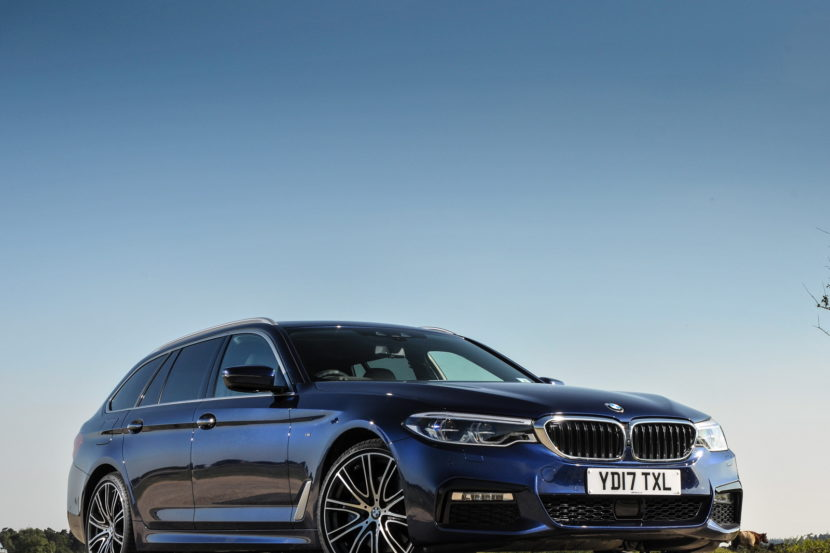 2017 BMW 5 Series Touring England 115 830x553