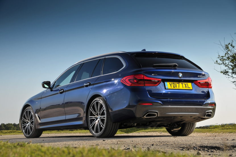 2017 BMW 5 Series Touring England 116 830x554