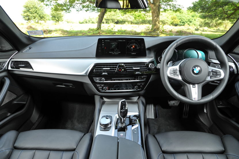 2017 BMW 5 Series Touring England 70 830x554