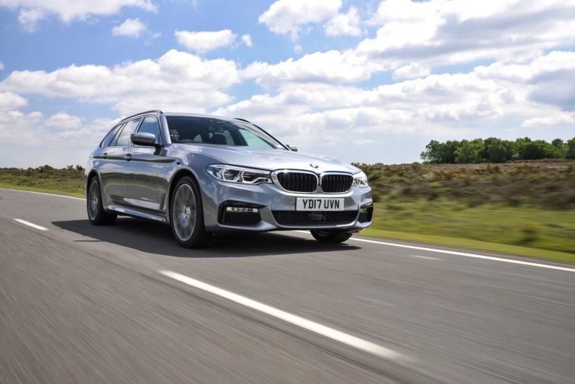 2017 BMW 5 Series Touring England 82 830x554
