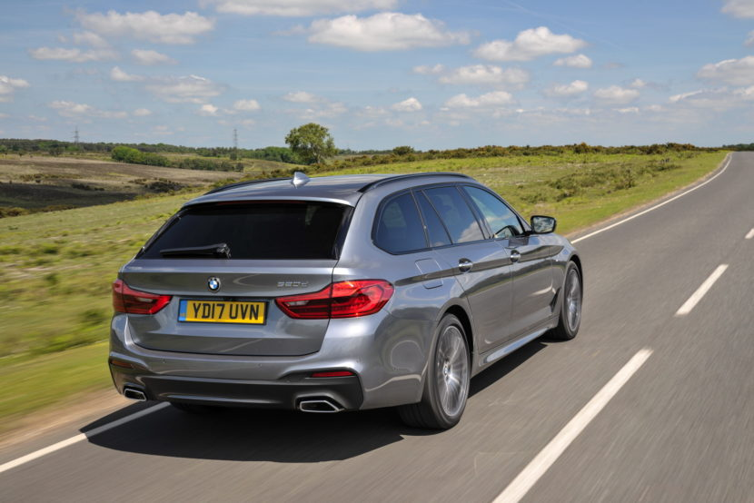 2017 BMW 5 Series Touring England 85 830x554