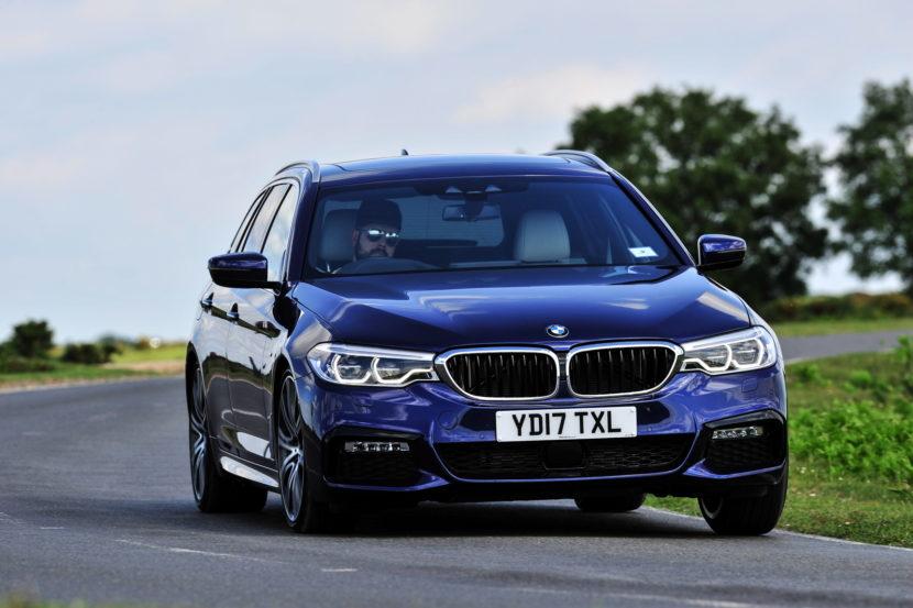 2017 BMW 5 Series Touring England 89 830x553