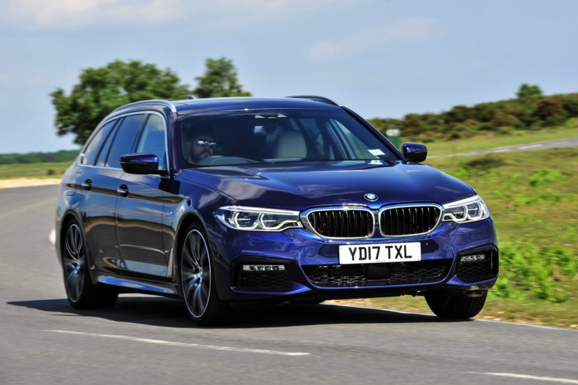 2017 BMW 5 Series Touring England 92 830x553