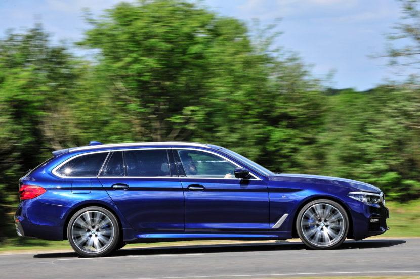 2017 BMW 5 Series Touring England 93 830x552