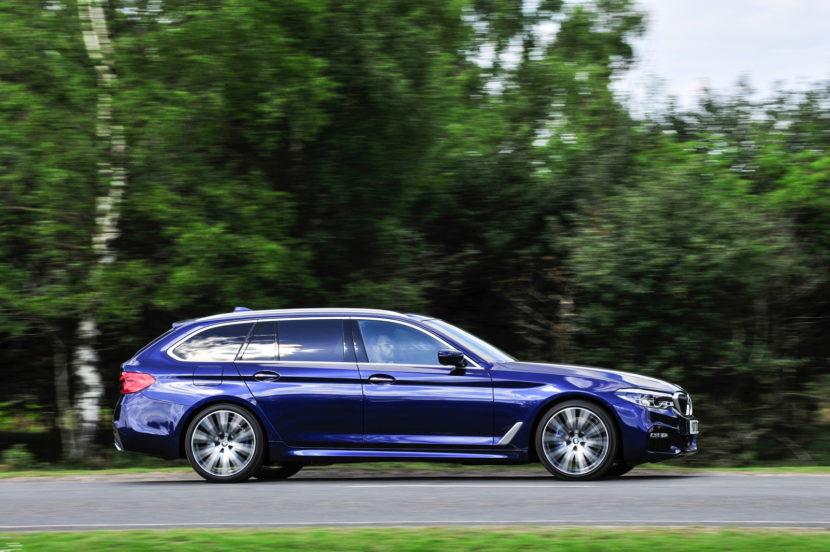 2017 BMW 5 Series Touring England 94 830x552