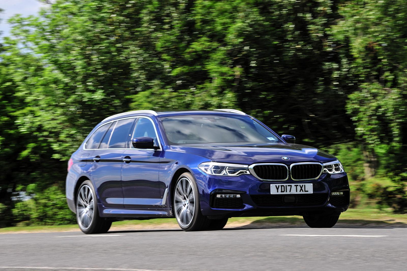 2017 BMW 5 Series Touring England 96