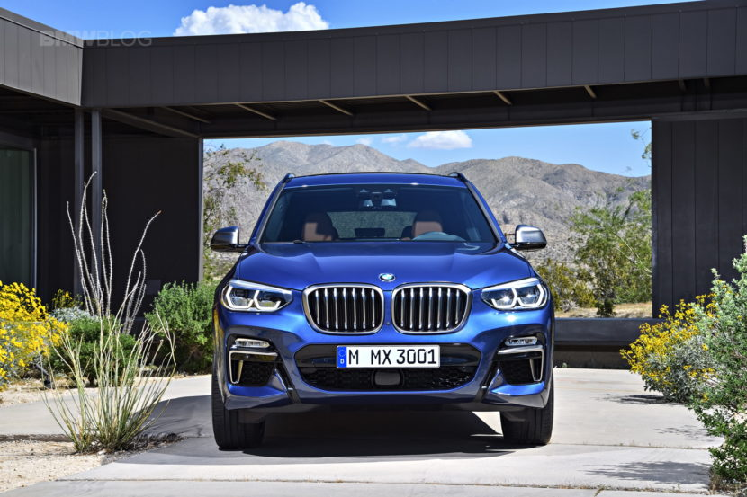 2018 BMW X3 G01 official photos 02 830x553