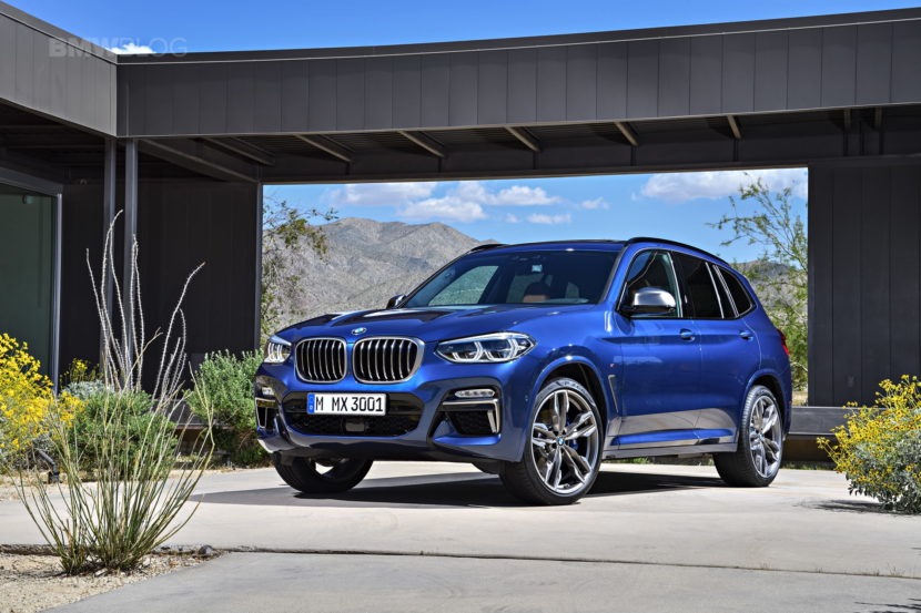 2018 BMW X3 G01 official photos 03 830x553