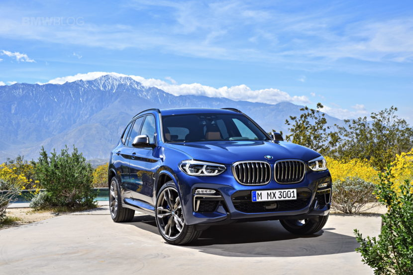 2018 BMW X3 G01 official photos 05 830x553