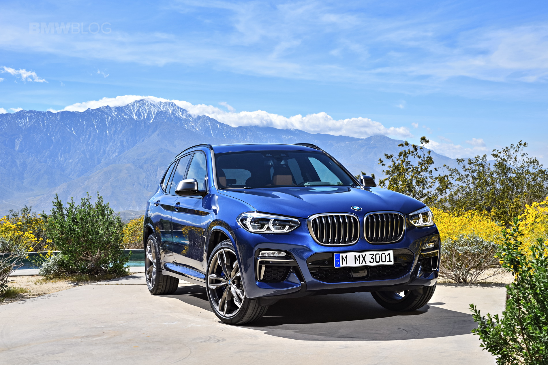 2018 BMW X3 G01 official photos 05