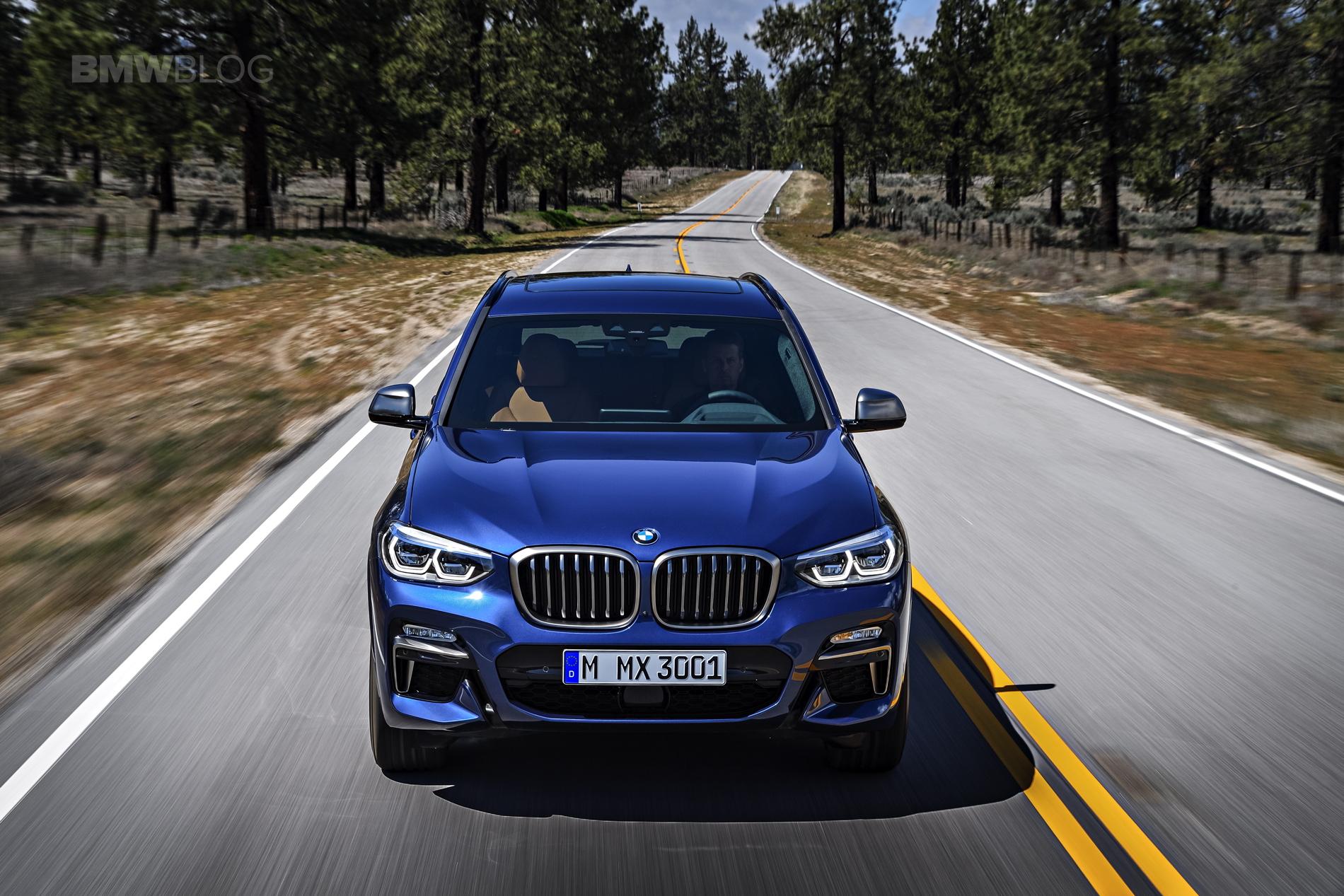 2018 BMW X3 G01 official photos 45