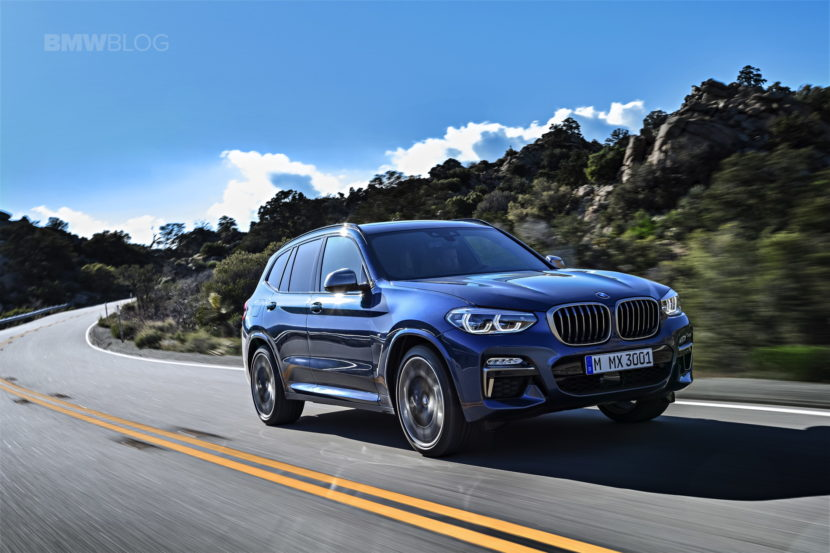 2018 BMW X3 G01 official photos 48 830x553