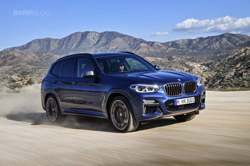 2018 BMW X3 G01 official photos 49 830x553