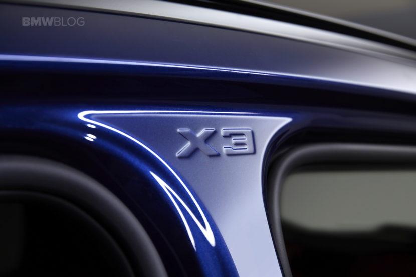 2018 BMW X3 design 15 830x553