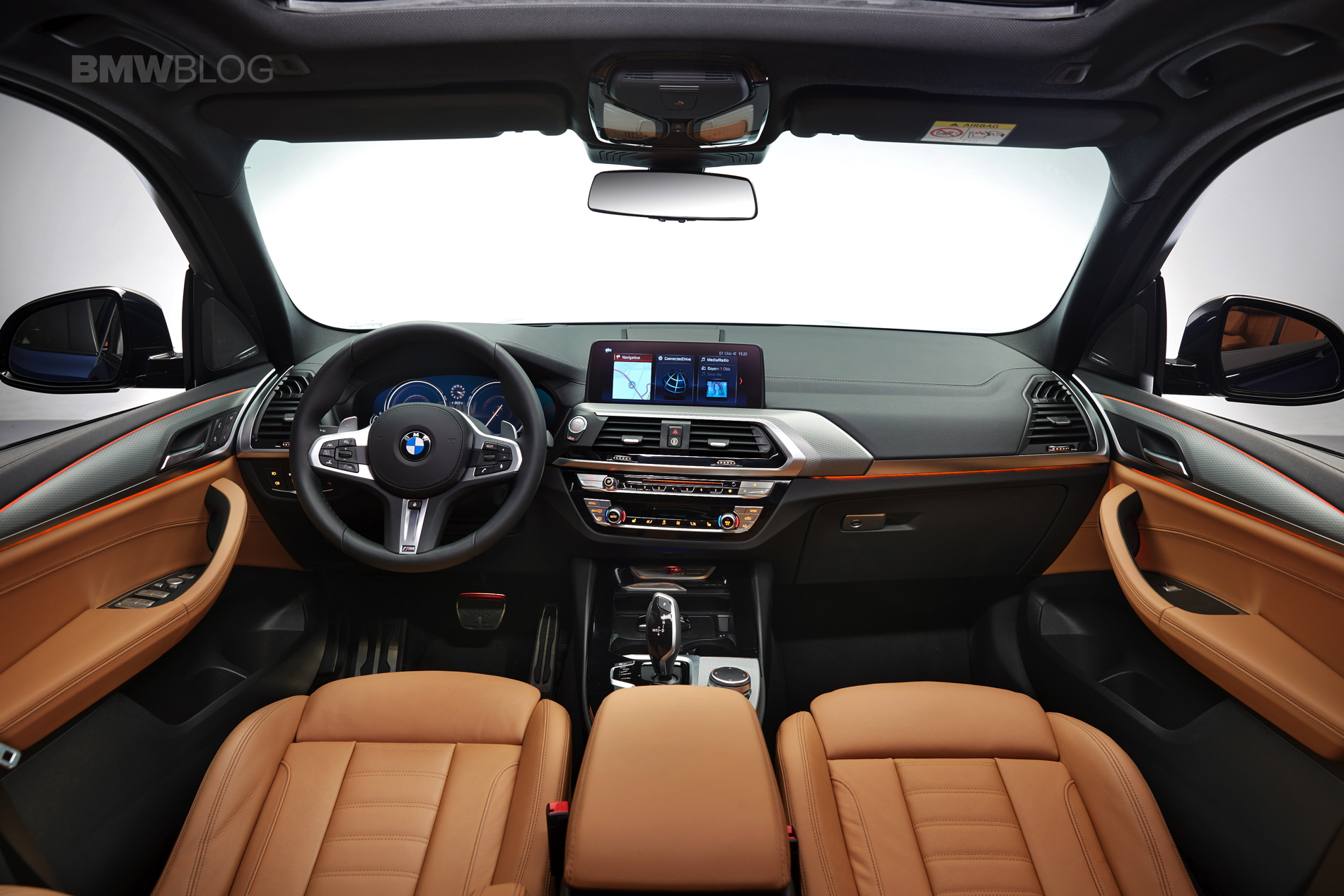 Exclusive live photos of the new 2018 bmw x3 for Bmw serie 3 2018 interior