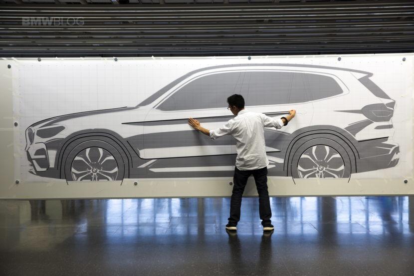 2018 BMW X3 design sketches 03 830x553