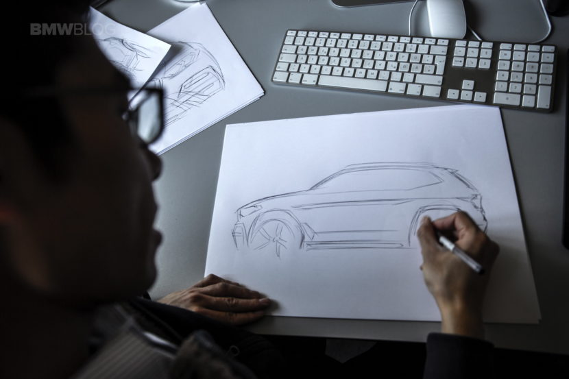 2018 BMW X3 design sketches 17 830x553