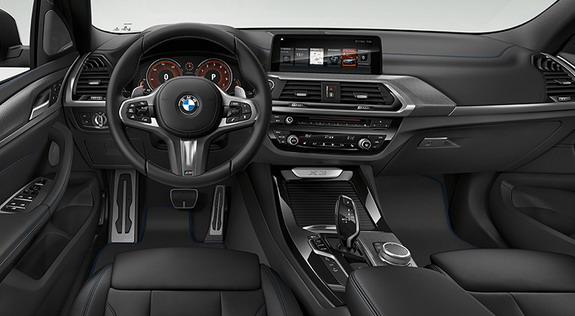 The XLine And Luxury Models Focus More On Elegance Of New X3 While M Sport Package Brings An Steering Wheel BMW Individual Headlines
