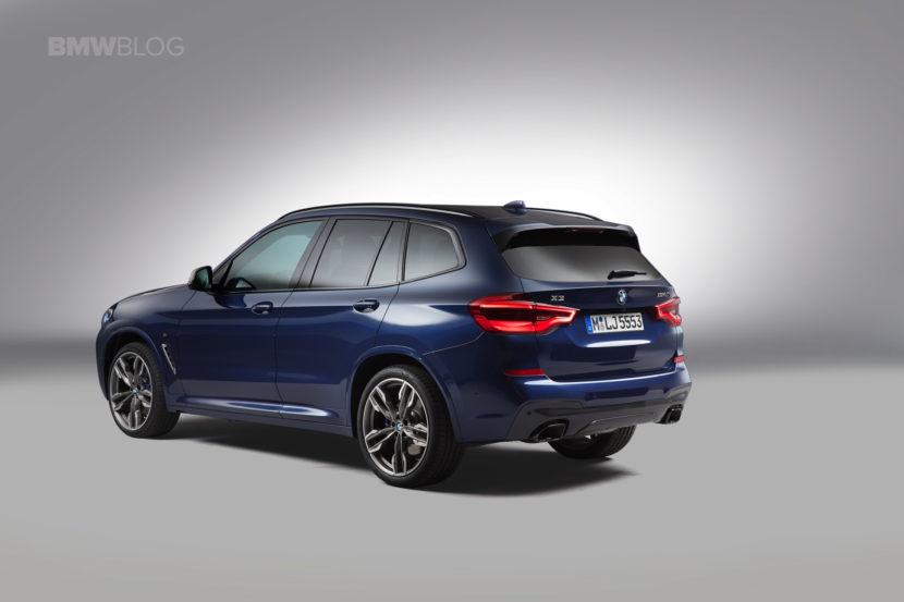 2018 BMW X3 images 16 830x553